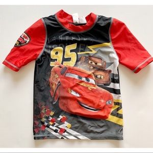 Boys- Cars rash guard